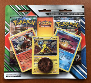 Pokemon TCG Legendary Beasts Blister Pack - 2 Booster Packs & 3 Holos New Sealed