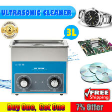 GT SONIC PROFESSIONAL ULTRASONIC CLEANING Watch Coins 3L Ultrasonic Cleaner DE