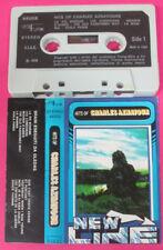 MC Hits of CHARLES AZNAVOUR New line 1979 italy UNI FUNK 44002 no cd lp vhs dvd