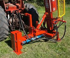 FARMFORCE 8.5ft post driver SIDE SHIFT fence hole HYDRAULIC digger auger FENCING