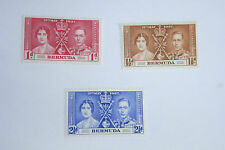 GEORGE VI 1937 CORONATION BERMUDA UN MOUNTED MINT