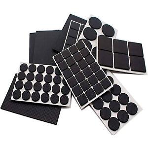 99x Non-Slip Floor Protectors Self Adhesive Anti Scratch Furniture Rubber Pads