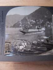 Stereo View Stereo Card - Italy - Como