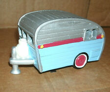 1/43 Scale Camper Travel Trailer Clay Resin Model With Working Light Decoration