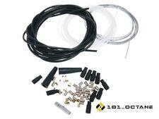 Gaszug Reparatur Kabel Bowdenzug Set 60 teilig universal 570cm für Motorrad etc.