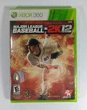 Major League Baseball 2K12 (Microsoft XBox 360, 2012) Brand New!