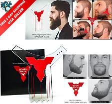 BEARD NINJA-Beard Shaping Tool Template Beard Shaper Guide For Line Up Goatee