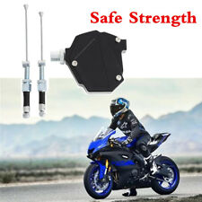 CNC Aluminum Clutch Lever Easy Pull Cable System Save Strength For HONDA YAMAHA