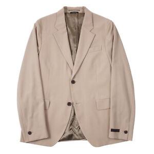 $1870 Prada Lightweight Wool Blazer with Contrasting Panels Slim 42R (Eu 52)