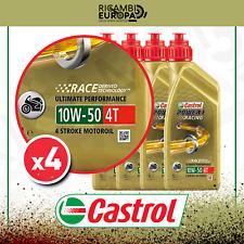 OLIO CASTROL POWER 1 RACING 4T 10W50 API SL - JASO MA2 DA 4 LITRI