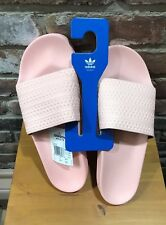 ADIDAS Adilette Slide Sandals sz 13 Pink Summer Beach Pool Side NWT