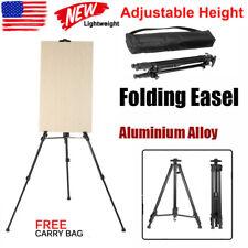 Artist Aluminium Alloy Folding Painting Easel Adjustable Tripod + Carry Bag Usa