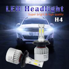 16000LM COB LED 9003/H4 Headlight Kit High/Low Beam Light Bulbs 6500K White US