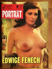 Edwige Fenech Magazin Zeitschrift Porträt No.7 Erotik Männermagazin Bildband