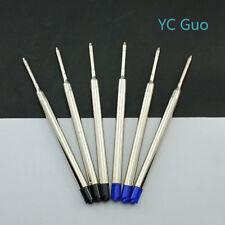 6X Compatible Parker Ball Point Pen Refills 3 Black & 3 Blue