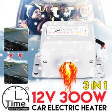 300W 12V Portable Car Heater Fan Demister Defroster Heating Warmer Windscreen US