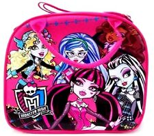 Monster High Lunch Bag with Water Bottle-Pink