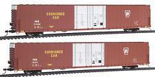 Spur H0 - Pullman 86' Hi-Cube 4-Door Boxcar Pennsylvania 2 Wagen -- 235014 NEU