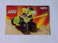 LEGO ® de recette/INSTRUCTION Nº 6812
