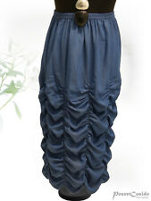 PoCo DeSiGn LAGENLOOK Wolken Ballon-Rock LONG jeans-blau L-XL-XXL-XXXL 44 -58