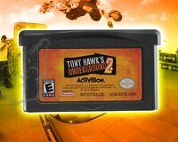 Tony Hawk's Underground 2 [Nintendo Game Boy Advance GBA Skateboarding Sk8 Game]