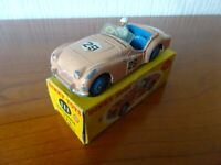 TRIUMPH TR2 - DINKY TOY 111 - Vintage Die cast model - ORIGINAL BOX- SEE PHOTOS.