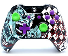 """Joker"" XBOX ONE RAPID FIRE MODDED CONTROLLER 40 MODS COD WW2 BO3 IW GOW + More"