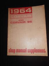 Vintage 1964 Chevrolet Corvair & Corvair 95 Shop Manual Supplement!
