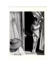 PHOTO POSTCARD- UNTITLED FILM STILL #7-1978-CINDY SHERMAN PHOTO  BK12