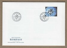Sweden 2013 compass , ships , boats , marine life FDC face value price 5 $