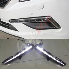 DRL LED Daytime Running Light Fog/Driving Light For Hyundai Sonata 9th 2015-2017