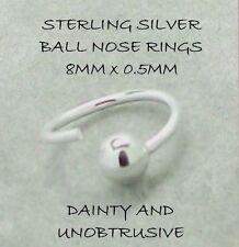 Gioielli in argento del naso per il corpo 8mm