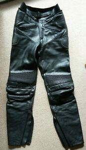 Ladies BELSTAFF Leather Motorcycle Trousers,  S / 10