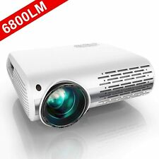 Projector, YABER 6500 Lumens 1080P HD LED Projector With 4D ±50° Keystone Correc