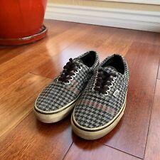 Vans Era Wool Houndstooth Size 7.5 Men's 9 Women's