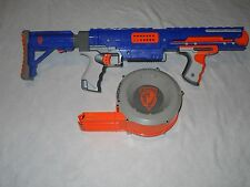 Nerf N Strike Raider Rapid Fire CS 35 Dart Gun Blaster w/Drum and Shoulder Stock