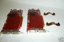 Dell ATI Radeon 2600 XT PCIe Graphics Card 256MB DVI S-Video w/SLI Cables WP002