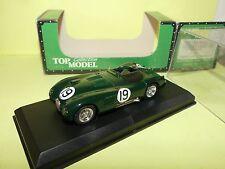 JAGUAR TYPE C N°19 LE MANS 1953 TOP MODEL TMC069 1:43 Arrivée 4ème