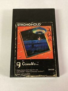 Stronghold - Tested And Cleaned - Atari 2600 Rare