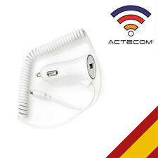 Actecom mini cargador mechero coche cable para iPhone 6 8 pin carga blanco
