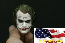 SUPREME 1/6 Custom Joker Head Sculpt 3.0 for hot toys DX11 DX01 Narrow Shoulder