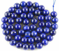 Wholesale Natural Lapis Lazuli Gemstone Stone Spacer Loose Beads DIY 4/6/8/10MM