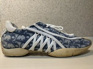Christian Dior Vintage Trotter Monogram Sneakers Athletic Shoes US9