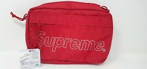 Supreme Shoulder Bag Red FW18 | In Hand | 100% Authentic