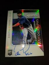 2015 PANINI PRIZM EDWIN ESCOBAR ROOKIE AUTO RED SOX