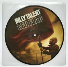 BILLY TALENT RED FLAG rare UK 7 INCH VINYL RECORD BRAND NEW Picture Disc