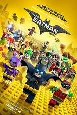 THE LEGO BATMAN PELÍCULA ORIGINAL Cartel de película – deshacerse FINAL Estilo