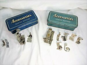Lot of Sewing Machine Attachments, Greist, Singer, Simanco