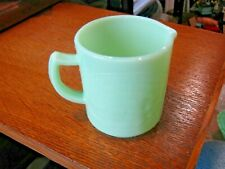 Jadeite Green Glass Cream Dove Peanut Butter Salad Dressing 1 C Binghamton Ny d