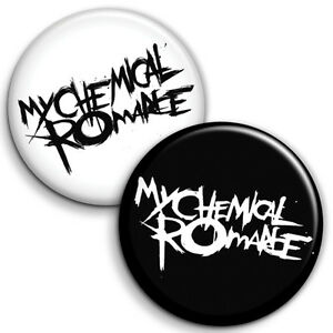 My Chemical Romance  Button Badges - 25mm 1 inch Indie Music Rock